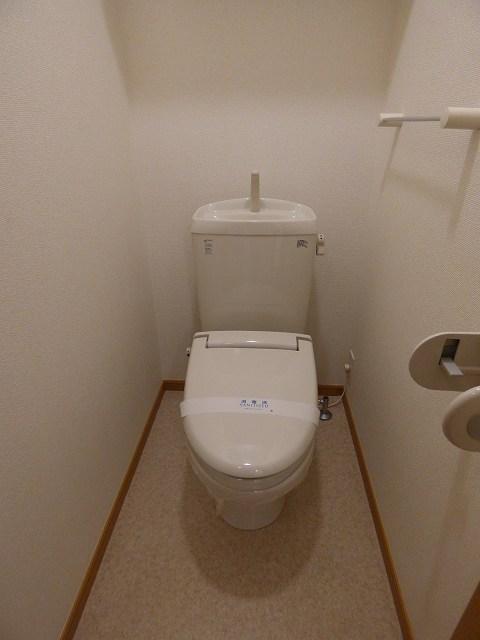 folding villa 02050号室のトイレ