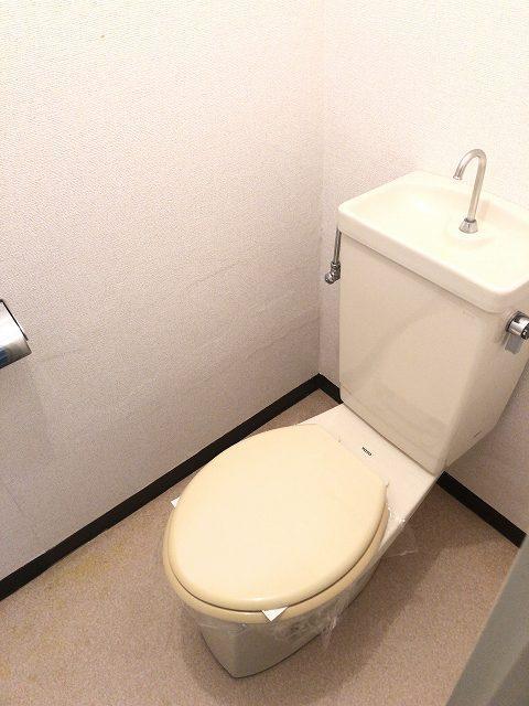 エルディム城南 01030号室のトイレ