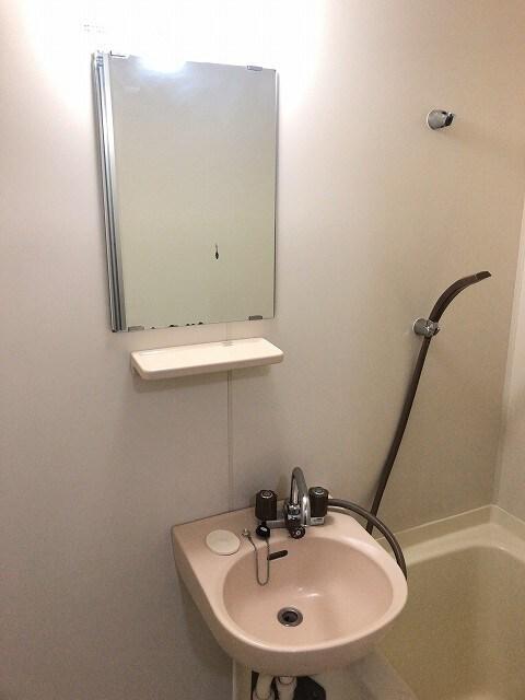 エルディム城南 01030号室の洗面所