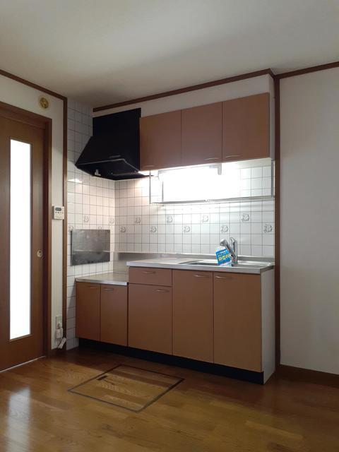オーベルジュ・ド・ラフィーネ 01030号室のキッチン