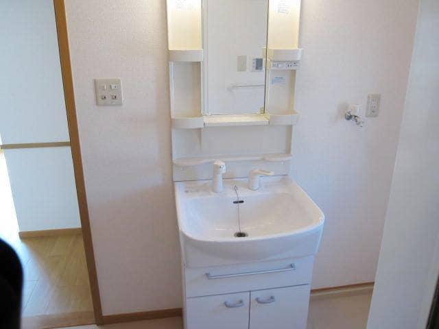 ヴィラ・ルミエールⅡ 02010号室の洗面所