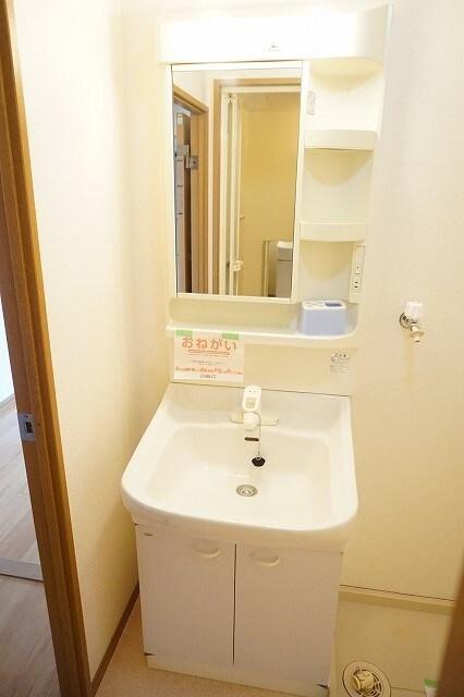 マーヴェラス太田 02040号室の洗面所