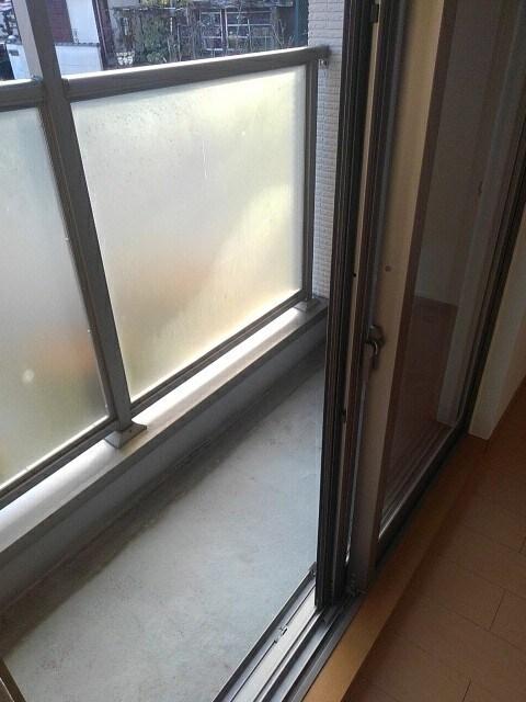 マーブルコート 01020号室のバルコニー