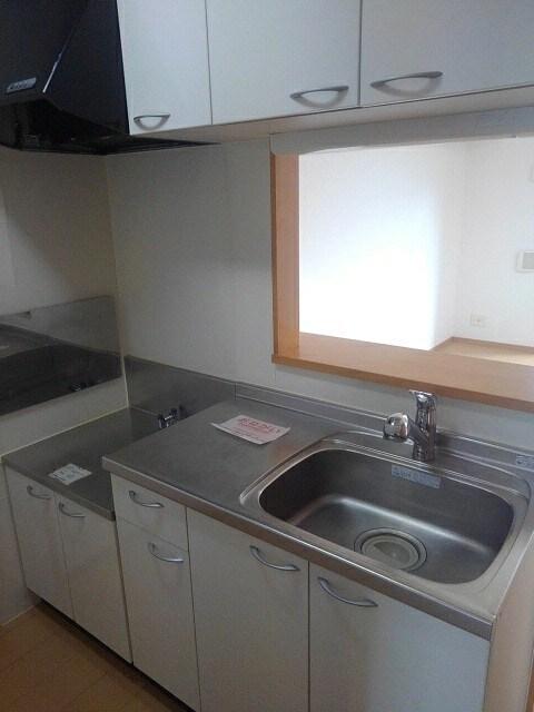 マーブルコート 01020号室のキッチン