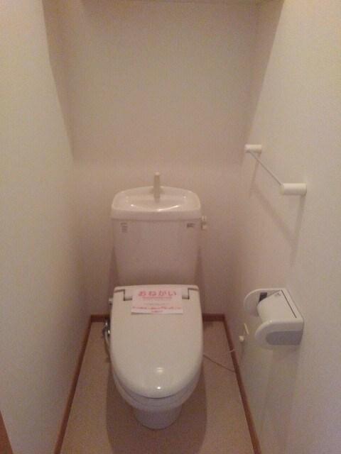 マーブルコート 01020号室のトイレ