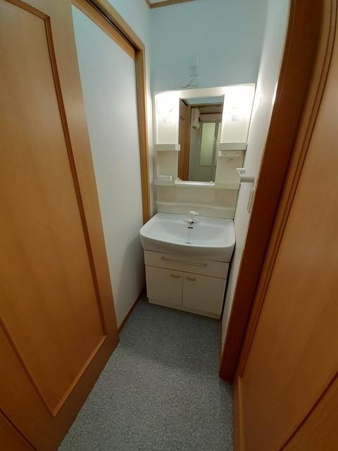 フォレスタ ロヴィーネ 1 01040号室の洗面所
