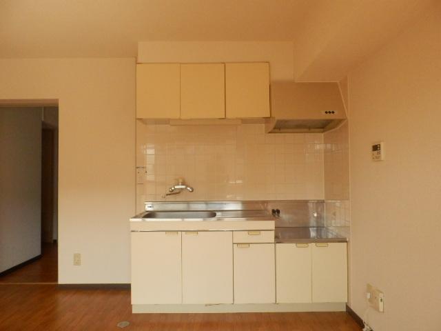ツインプラザA 302号室のキッチン