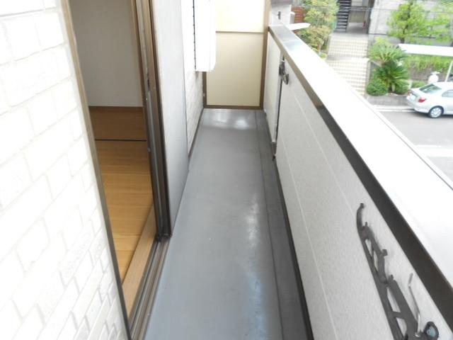 COMODO藤城C 02020号室のバルコニー