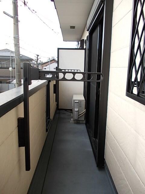 アンシャンテ 02030号室のバルコニー