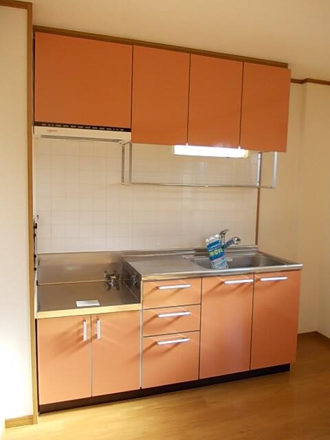 アンシャンテ 02030号室のキッチン