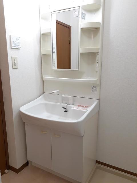 ウ゛ィオラ・トリコロル 01030号室の洗面所