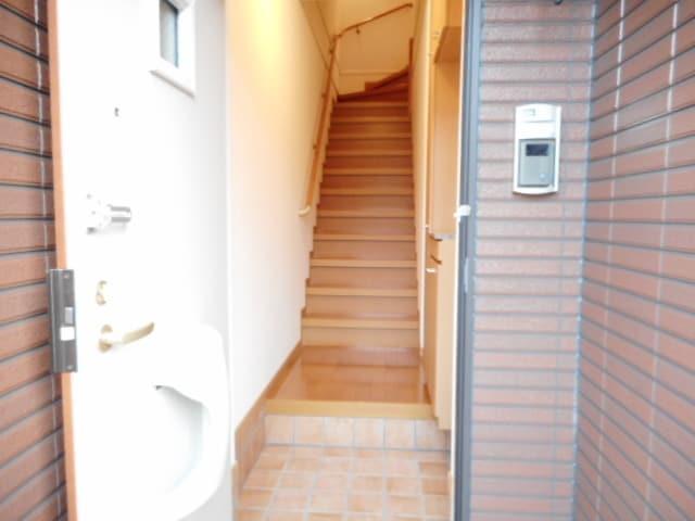 ジュネスⅡ 02040号室の玄関