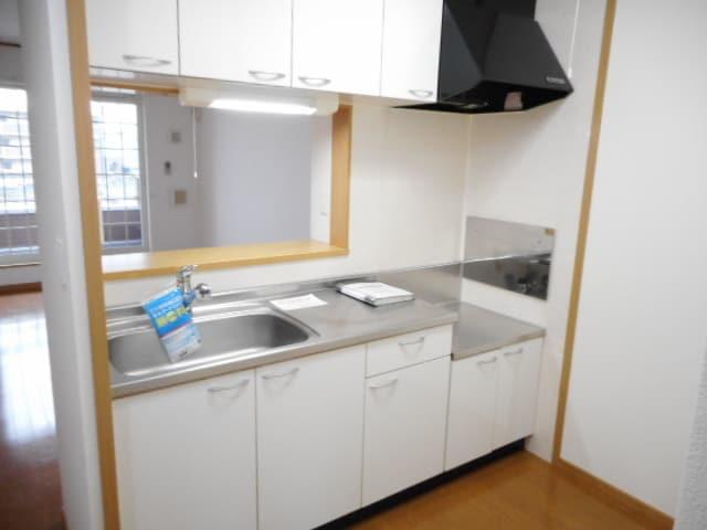 ジュネスⅡ 02040号室のキッチン