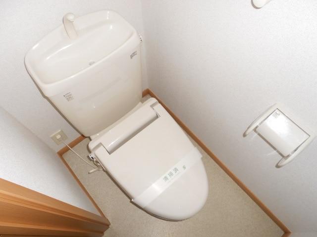 サンパレス21 C 02040号室のトイレ