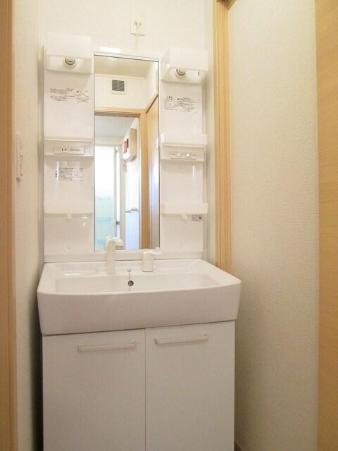 ベル・フルールA 01010号室の洗面所