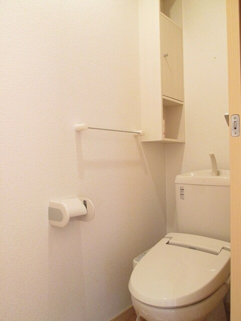 ベル・フルールA 01010号室のトイレ