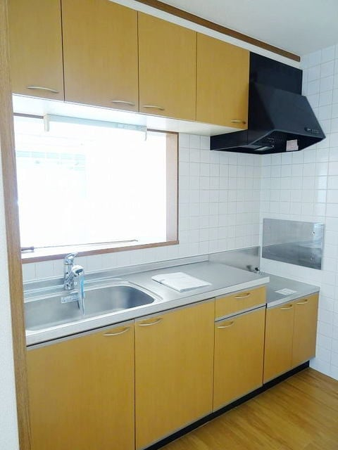 プラムコート 02010号室のキッチン