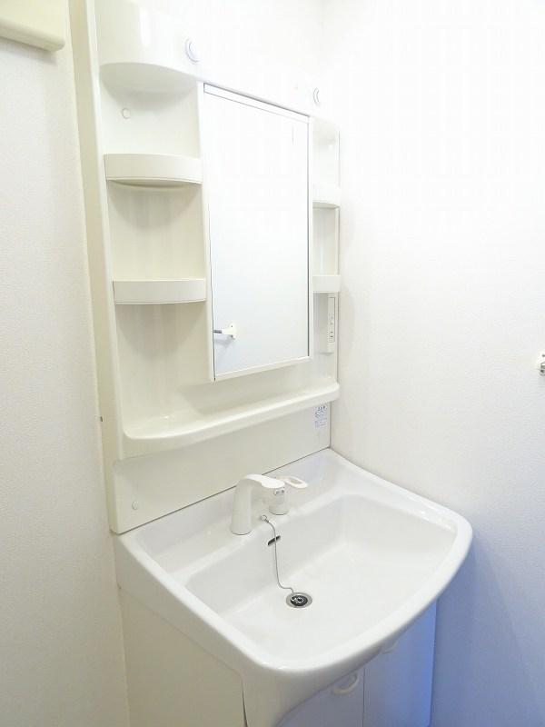 プラムコート 02010号室の洗面所