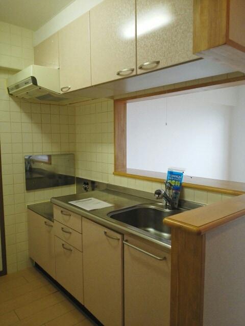 エヴァーグリーン ハイツ 02030号室のキッチン