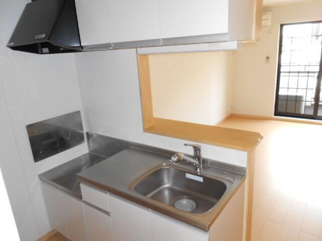 エバーグリーン B 01010号室のキッチン
