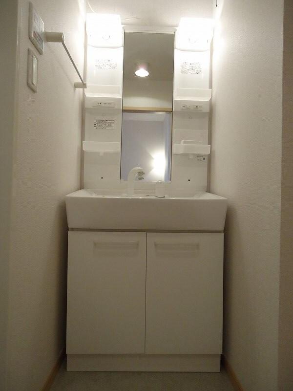 アイリス 02010号室の洗面所