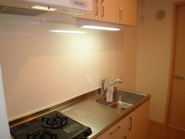 ノーブル スクエア 01060号室のキッチン