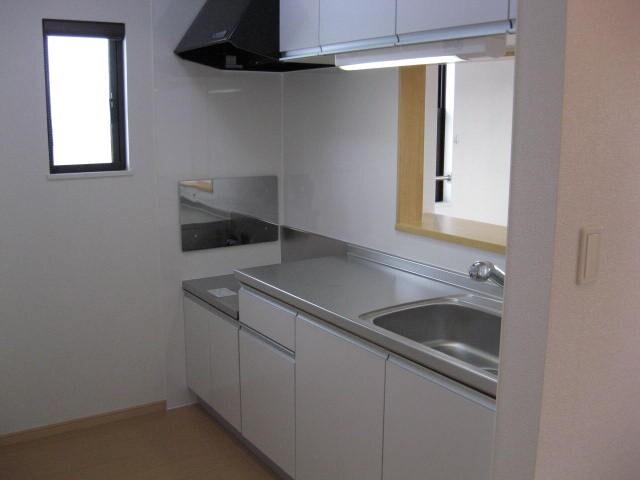 パークプレイスDEUX 02040号室のキッチン