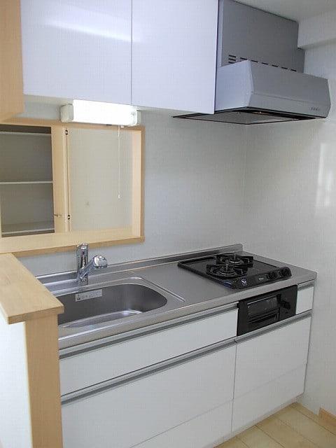 ララシャンス 02040号室のキッチン