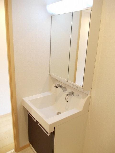 ララシャンス 02040号室の洗面所