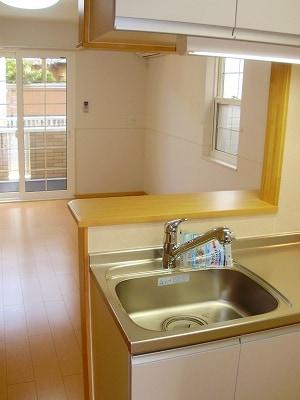 サニーハウス 01020号室のキッチン