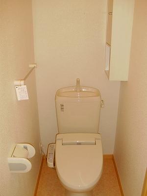 サニーハウス 01020号室のトイレ