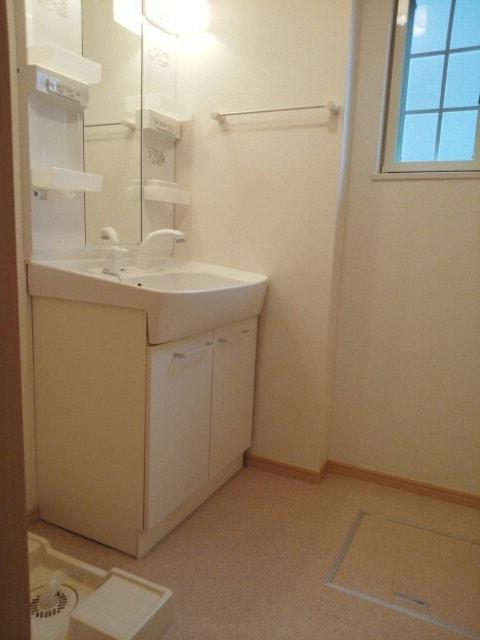 アミティエ東光 02020号室の洗面所