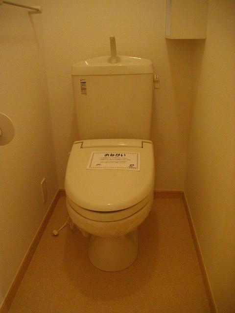 アミティエ東光 02020号室のトイレ