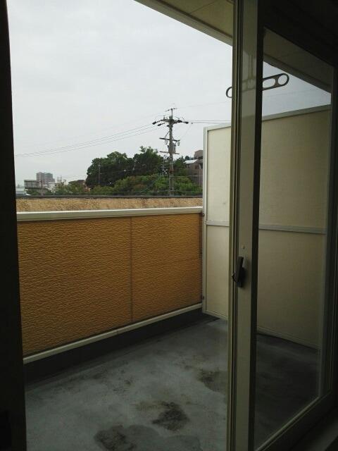 アミティエ東光 02020号室のバルコニー