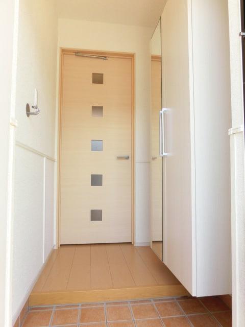 グランドステージ豊潤 01010号室の玄関