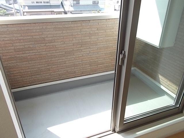 セレノカーサ 03010号室のバルコニー