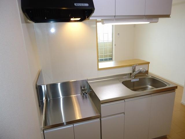 ルミエ-ルⅠ 02040号室のキッチン