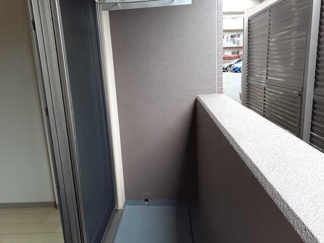 リュミエール 01050号室のバルコニー