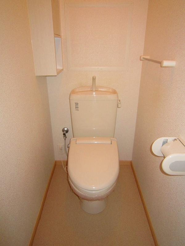 アプローズ 02010号室のトイレ