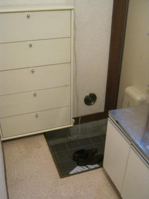 難波ハイツ 102号室の玄関