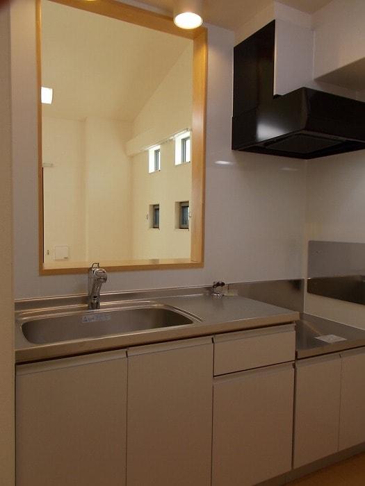 レオネッサ鴻池 02040号室のキッチン