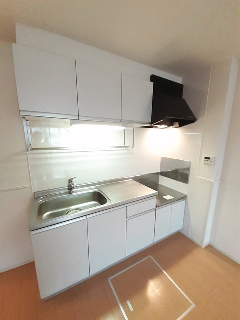 ヴィラ ソレイユ 01030号室のキッチン