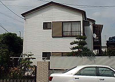 藤ヶ谷山田アパートの外観