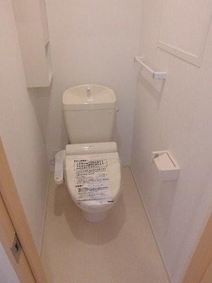 ペルマネンテB 02010号室のトイレ