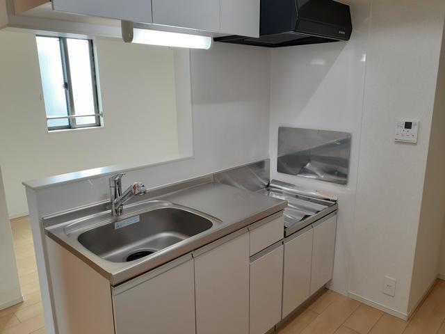 ラフレシールB 02010号室のキッチン