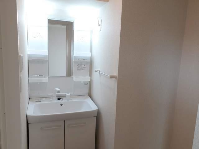 ラフレシールB 02010号室の洗面所
