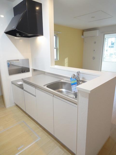 サザンクロス 01050号室のキッチン