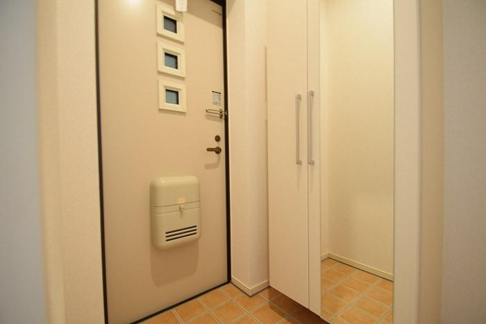 モデルノ リヴァー 02020号室の玄関