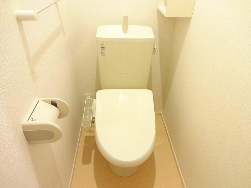 サニーテラス 01020号室のトイレ