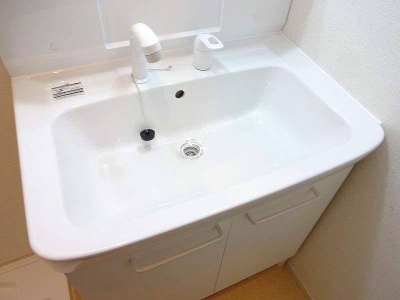サニーテラス 01020号室の洗面所